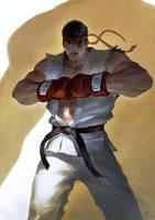 Ryu Vs Sagat by VictorBang