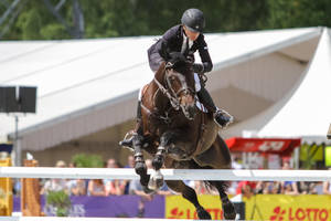 3DE Show Jumping Phase Stock 135 - Midair Turn by LuDa-Stock