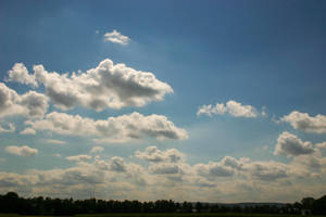 Cloudy Sky Stock by LuDa-Stock