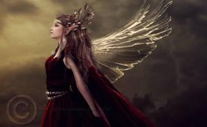 High Elf Queen by KCsummerz
