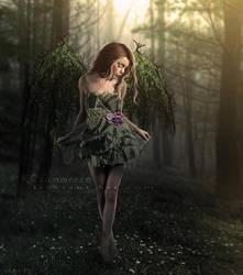 Woodland Fairy by KCsummerz