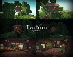 Tree House (Minecraft) by error-23
