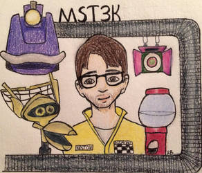 Mystery Science Theater 3000 by PossiblyMaybeMe