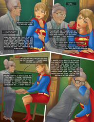 Ma Kent and Supergirl by oboeshoes16