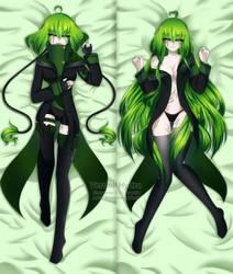 Dakimakura: Verdell Hydra by AnonymousBlank