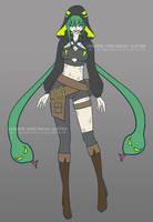 Verdell Hydra BnHA-sona: Hebihime Haidora by AnonymousBlank