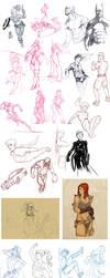 Sketch Dump 11 by AviKishundat