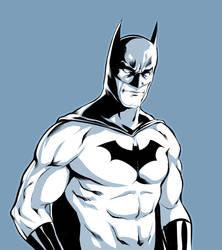 Batman Inks by AviKishundat