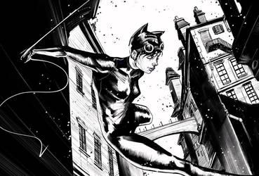 Catwoman - Midnight Stroll by AviKishundat