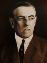 Woodrow Wilson by Bluerose1324