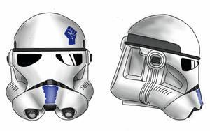 501st legion phase III Clone trooper helmet by SmacksArt