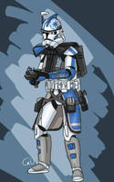 ARC trooper Ghost by SmacksArt