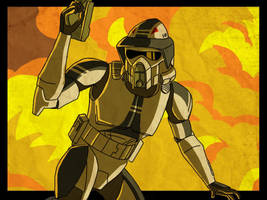 ARF trooper Smack by SmacksArt