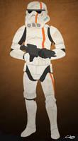 Nameless Stormtrooper by SmacksArt