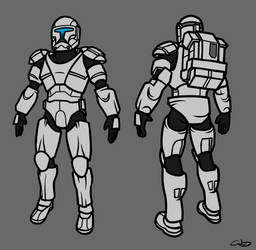 Clone Commando Base by SmacksArt