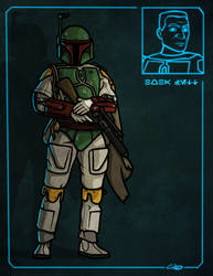 1 of 10 - Boba Fett by SmacksArt