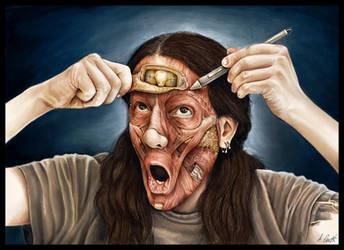 Anatomic self-portrait by AlessandroConti