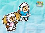 Paper Ice Climbers by hextupleyoodot