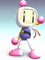 Bomberman of Brawl by hextupleyoodot
