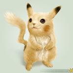 Real Pikachu by hextupleyoodot