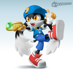 Klonoa for Smash by hextupleyoodot