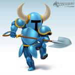 Shovel Knight Smashified by hextupleyoodot