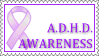 ADHD Awareness Stamp by Ellidegg