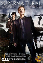 Supernatural Poster by Jujikaworld