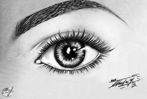 Eye study by GeorgeXVII