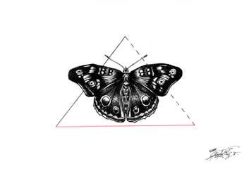 Monarch ink by GeorgeXVII