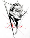 Dali Inktober by GeorgeXVII