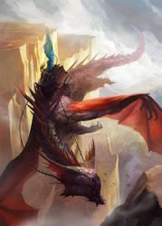 Dragon Rider by wildheadache
