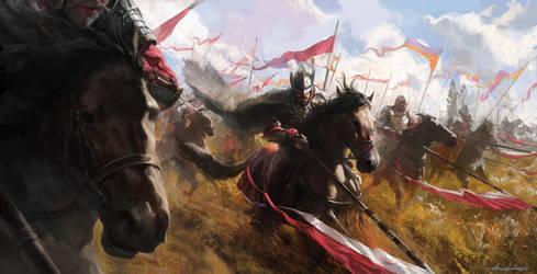Winged Hussars by wildheadache