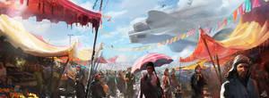 bazaar by wildheadache