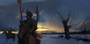 Pocztowy Husarski by wildheadache