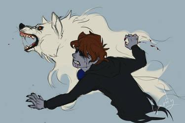 Like a wolf by Lynnarty