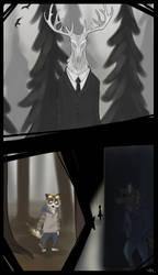 Zootopia version: Slenderman, Ticci Toby, EJ by Lynnarty
