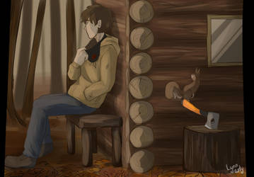The old cabin by Lynnarty