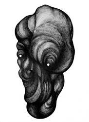 Born dumb zombie (sold) by RedTweny