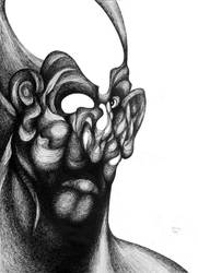 Open mind in a warped reality by RedTweny