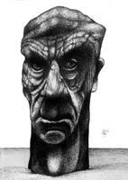 Tribute to a homeless man by RedTweny