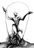 The lines's juggler by RedTweny