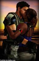 Chris and Sheva version 2 by SonRuki