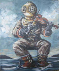 Deep Sea Diver (with fiddle) by ShayHahn