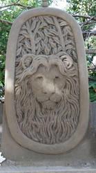 Lion by sculptin