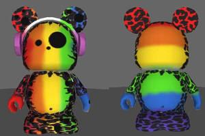 Mickey Leopard Headphones by Killian-Hollow