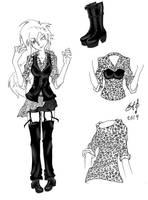 Visual kei Jrock girl by Killian-Hollow