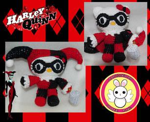 Hello Kitty Harley Quinn by Killian-Hollow