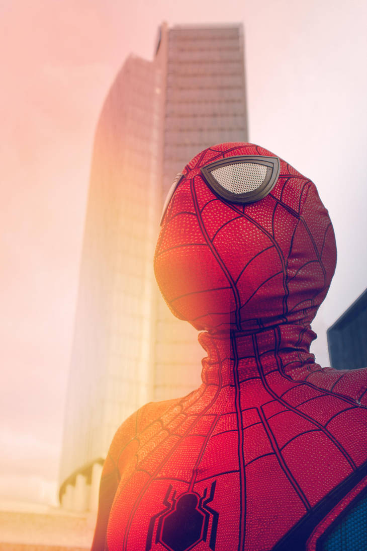 Spiderman is here! by Killian-Hollow