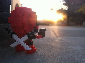 You know who.. by VoxelPerlers